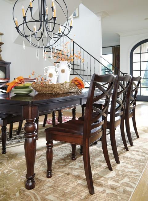 Rect Dining Room Ext Table 【ashley】輸入家具 アシュレイホーム