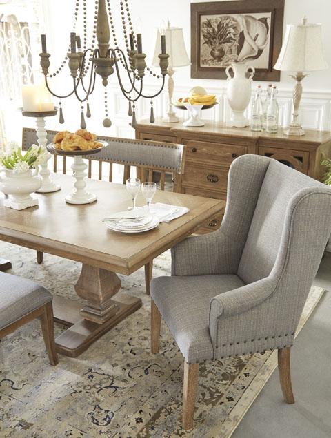 Dining Uph Arm Chair 【ashley】輸入家具 アシュレイホームストア 正規販売店