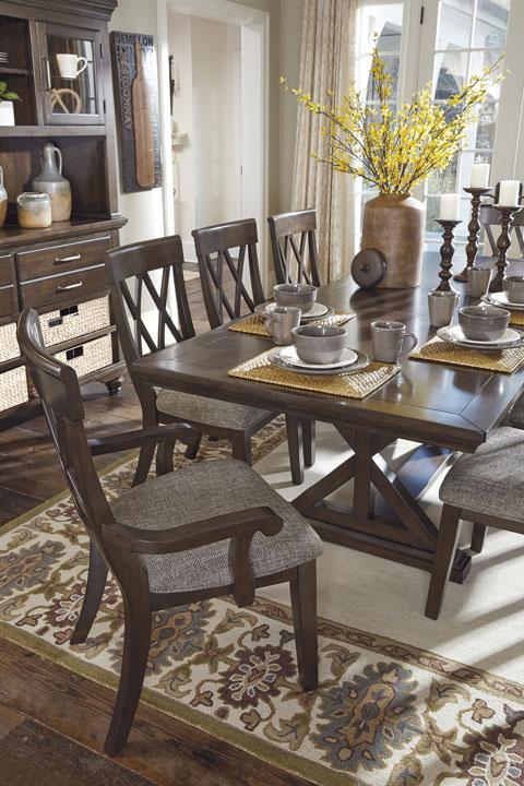Rect Dining Room Ext Table 【ashley】輸入家具 アシュレイホームストア 正規販売店